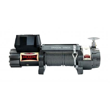 Offroad naviják Dragon Winch Highlander DWH 12000 HD, 12V, syntetické lano.