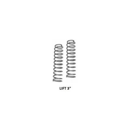 "Front coil springs Rough Country - Lift 3""- Jeep Cherokee XJ"