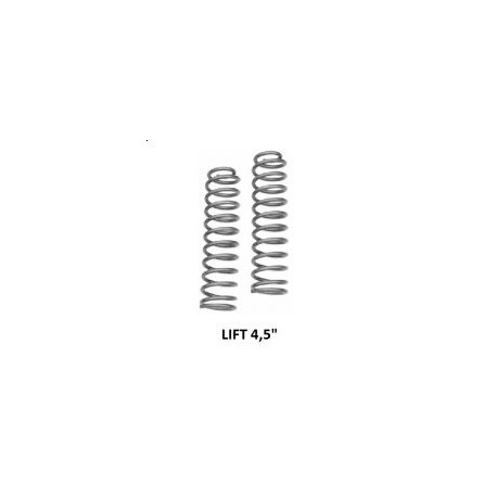 "Front coil springs Rough Country - Lift 4,5"" - Jeep Cherokee XJ"