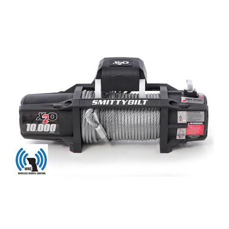 Winch SMITTYBILT X20 GEN2 10000 LBS Wireless Remote