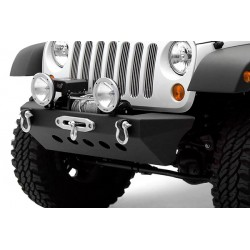 Front Steel Bumper with Winch Plate SMITTYBILT Classic Rock Crawler  - Jeep Wrangler JK