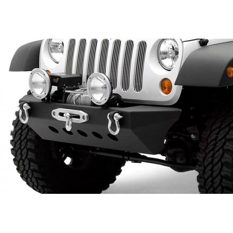 Front Steel Bumper with Winch Plate SMITTYBILT Classic Rock Crawler  - Jeep Wrangler JK