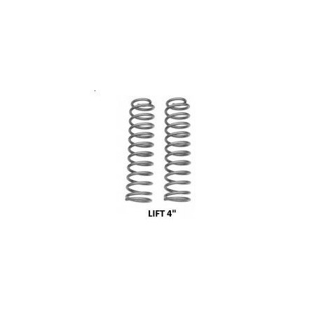 "Rear coil springs Rough Country - Lift 4"" - Jeep Grand Cherokee ZJ"