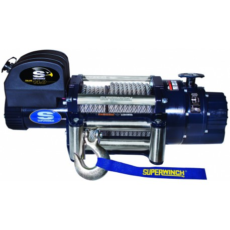 Superwinch TALON 14.0 12V electric winch (steel rope & stainless steel roller fairlead)