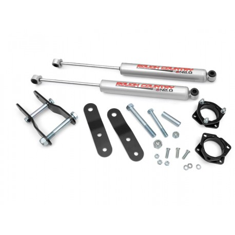 "2,5"" Rough Country Lift Kit - Toyota Tacoma 4WD 95-04"