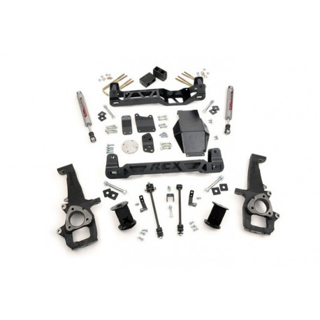 "6"" Rough Country Lift Kit - Dodge RAM 1500 4WD 06-08"