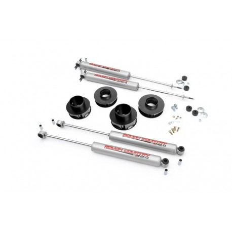 "2"" Rough Country Lift Kit suspension - Jeep Grand Cherokee WJ WG"