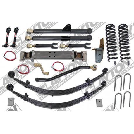 "6,5"" Long Arm Lift Kit suspension CLAYTON OFF ROAD - Jeep Cherokee XJ"