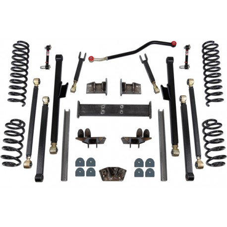"6,5"" Long Arm Lift Kit suspension CLAYTON OFF ROAD - Jeep Grand Cherokee WJ WG"