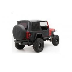 Soft Top Black Smittybilt - Jeep Wrangler YJ