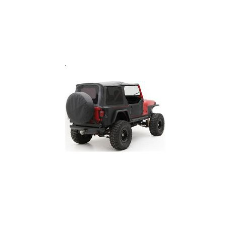 Soft Top Black Smittybilt - Jeep Wrangler YJ