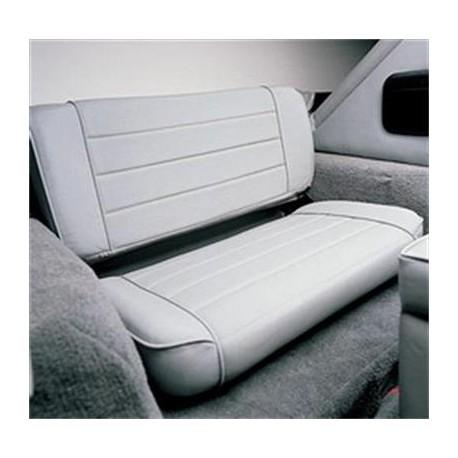 Rear Seat Gray Denim Smittybilt - Jeep Wrangler TJ