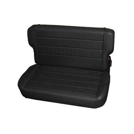 Rear Seat Black Denim Smittybilt - Jeep Wrangler TJ