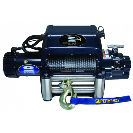 Superwinch TALON 12.5i 12V electric winch (steel rope & stainless steel roller fairlead)