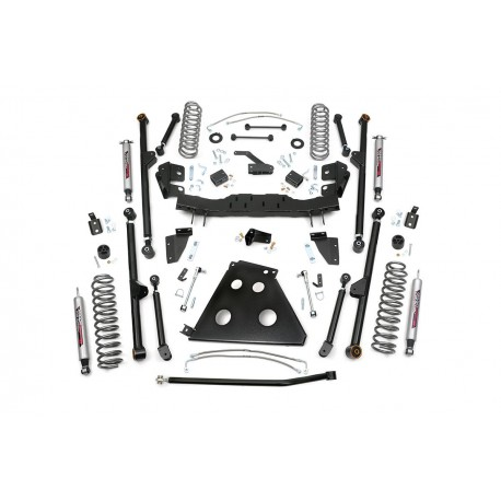 "4"" Rough Country Long Arm Lift Kit suspension - Jeep Wrangler JK 4 door"