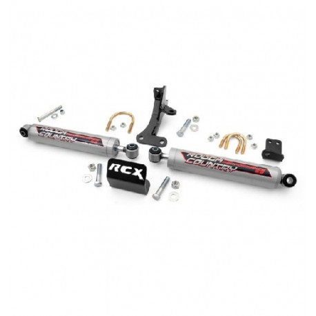 Double Steering stabilizer Performance 2.2 HD Rough Country - Jeep Grand Cherokee WJ WG