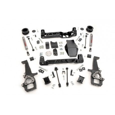 "4"" Rough Country Lift Kit - Dodge RAM 1500 4WD 09-11"