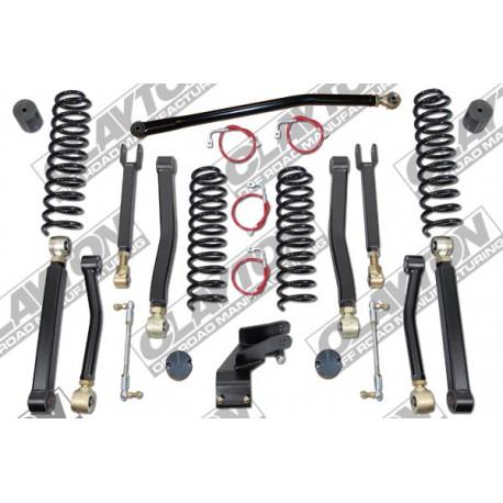 """3,5"""" CLAYTON OFF ROAD Premium Lift Kit suspension - Jeep Wrangler JK 4 door"""