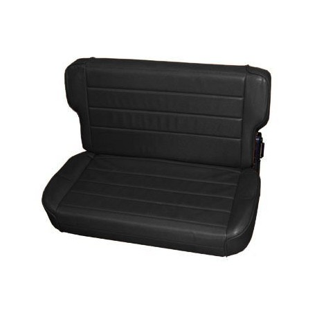 Rear Seat Black Denim Smittybilt - Jeep Wrangler YJ