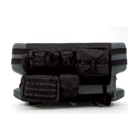 Rear Seat Cover G.E.A.R. Smittybilt black - Jeep Wrangler YJ