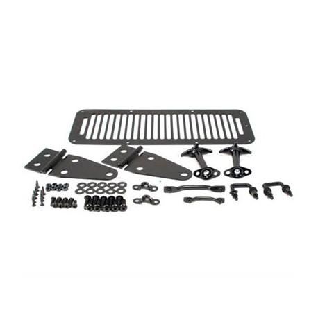 Complete Hood Kit Smittybilt- Jeep Wrangler YJ
