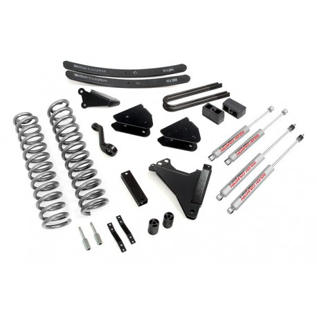 "6"" Rough Country Lift Kit - Ford F250 4WD 05-07"