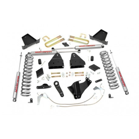 "6"" Rough Country Lift Kit - Ford F250 4WD 11-14"