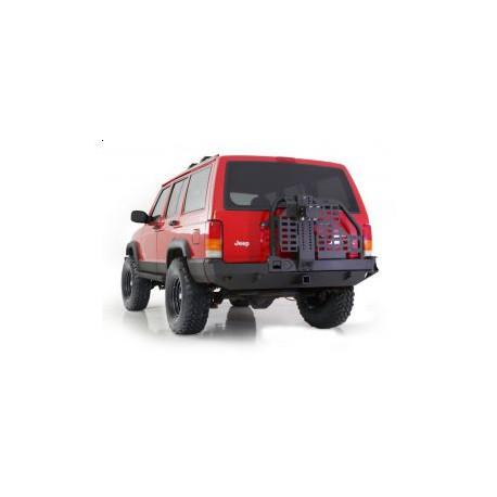 Rear bumper Smittybilt XRC Swing Away Tire Carrier Hi-lift  - Jeep Cherokee XJ