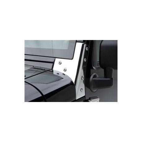 Windshield Brackets stainless steel Smittybilt - Jeep Wrangler JK