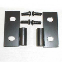 Lower Door Hinge Set black Smittybilt - Jeep Wrangler YJ