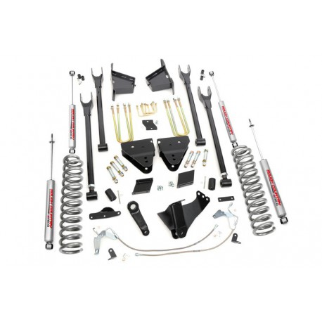 "6"" Rough Country Lift Kit PRO - Ford F250 4WD 11-14"