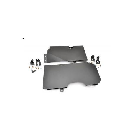 Gas Tank Skid Plate - Jeep Wrangler JK 4 door