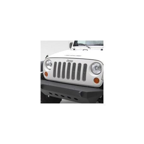 Grille inserts Smittybilt stainless steel - Jeep Wrangler JK