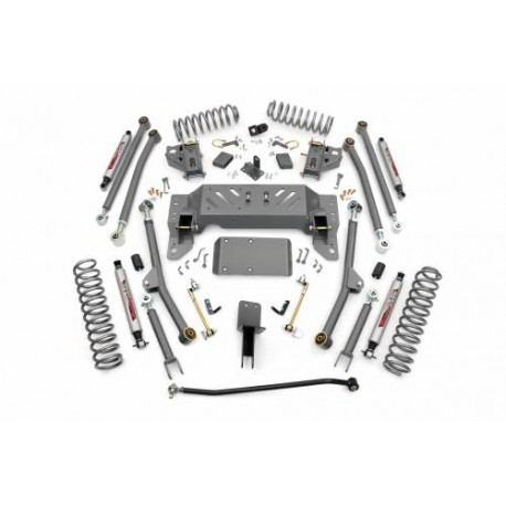 "4"" Long Arm Rough Country Lift Kit suspension - Jeep Cherokee ZJ"