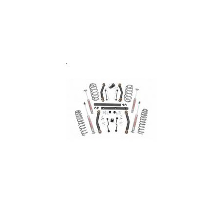 "4"" Rough Country Lift Kit - Wrangler TJ 03-06"