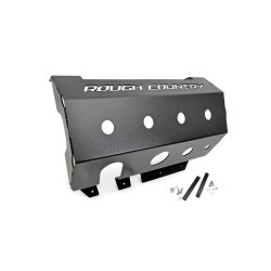 Muffler Skid Plate Rough Country - Jeep Wrangler JK