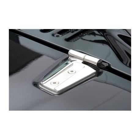 Hood Kit stainless steel - Jeep Wrangler JK