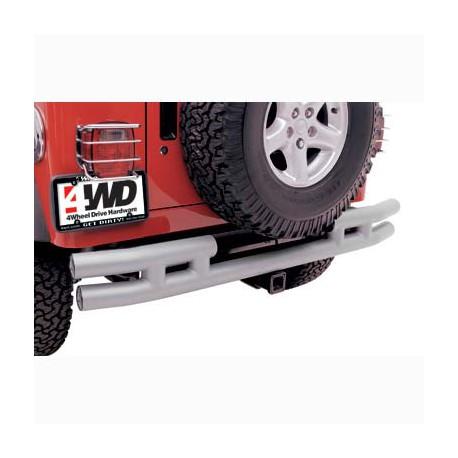 Rear Tubular Bumper Stainless Steel Smittybilt - Jeep Wrangler TJ