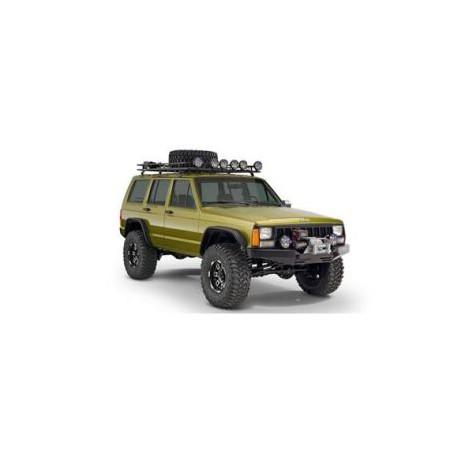 Fender Flares Bushwacker Flat Style - Jeep Cherokee XJ