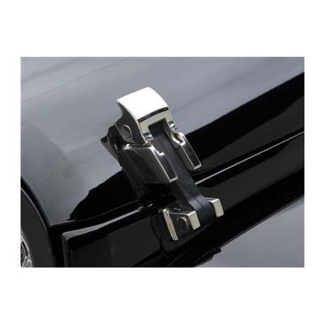 Hood Catches stainless steel Smittybilt - Jeep Wrangler JK