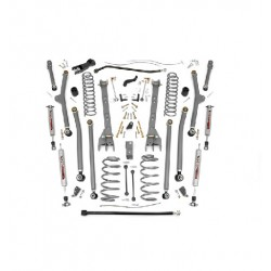 "4"" Long Arm Rough Country Lift Kit - Jeep Wrangler TJ"
