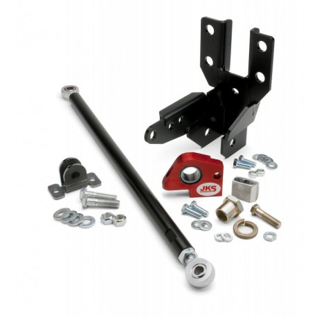 Front Track Bar and Sector Shaft Reinforcement Kit Features JKS - Jeep Wrangler JK