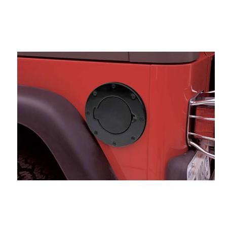 Gas Hatch Black Smittybilt - Jeep Wrangler TJ