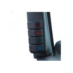 A-pillar Switch Pod with Rocker Switches DAYSTAR - Jeep Wrangler JK 07-10