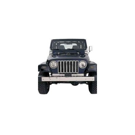 Chrome Grilee Inserts Smittybilt - Jeep Wrangler TJ