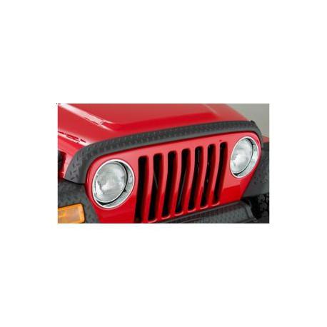 Hood Stone Guard BUSHWACKER - Jeep Wrangler TJ