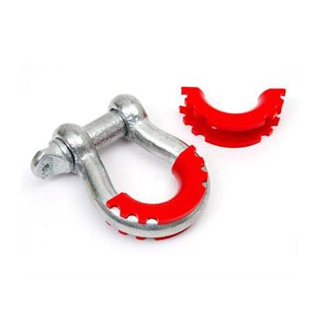 D-ring Isolators DAYSTAR red (pair)