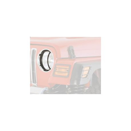 Head Lights Covers black Smittybilt - Jeep Wrangler TJ