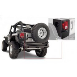 Rear Corners Trail Armor BUSHWACKER - Jeep Wrangler JK 2 drzwi