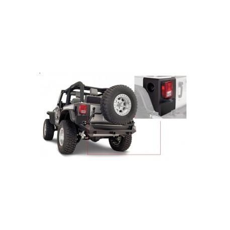Rear Corners Trail Armor BUSHWACKER - Jeep Wrangler JK 2 drzwi